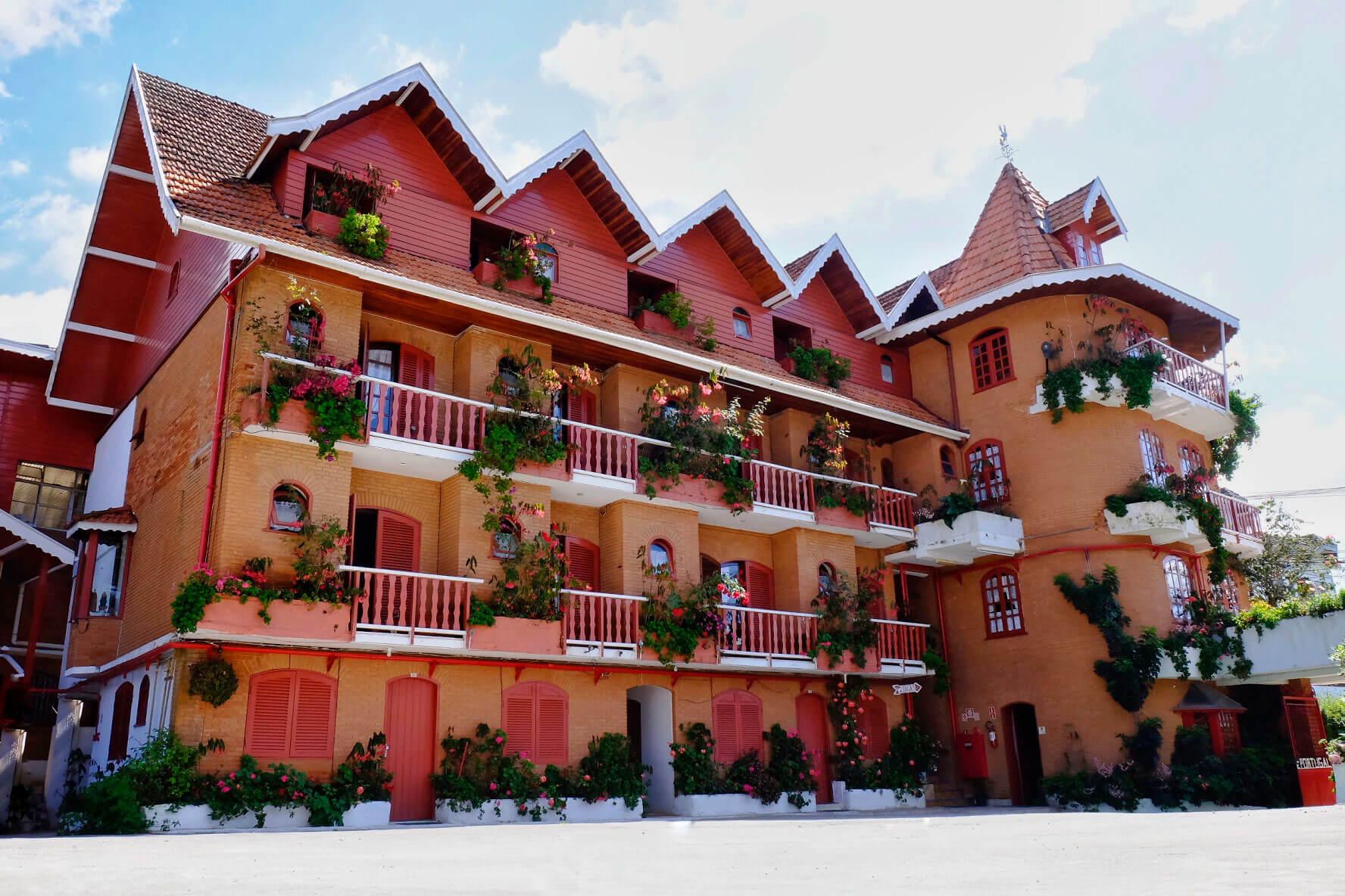 O Hotel Cantinho de Portugal